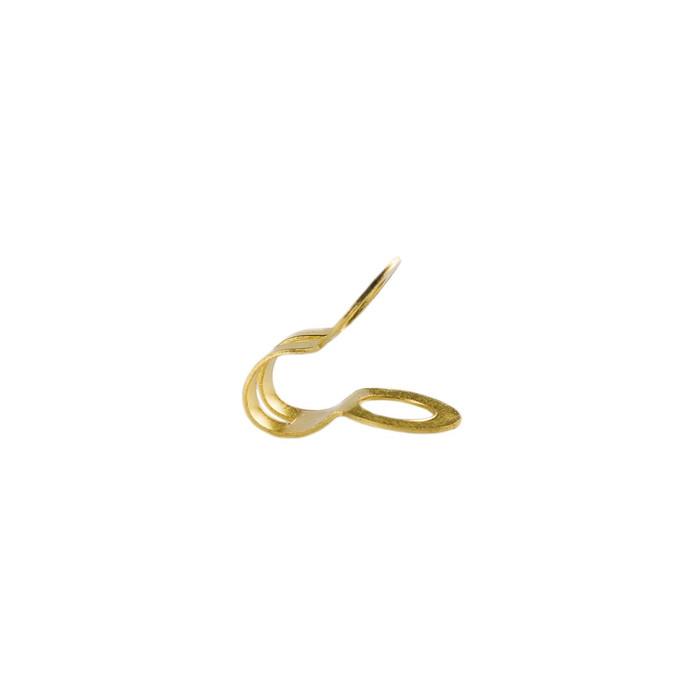 Ball Chain Universal Clips - 2.4mm - Gold Brass