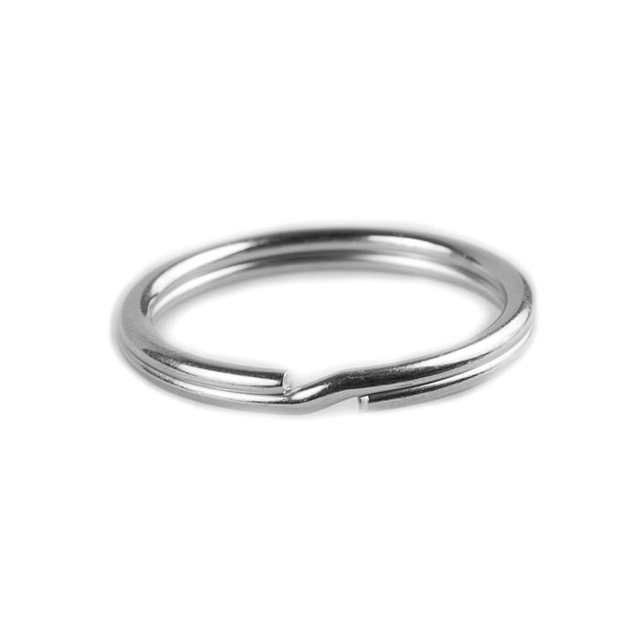 Key Rings - 25mm - Silver Nickel