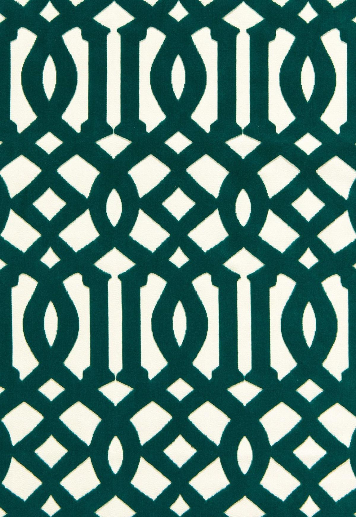 Schumacher imperial trellis velvet chartreuse 65591 for Imperial printing