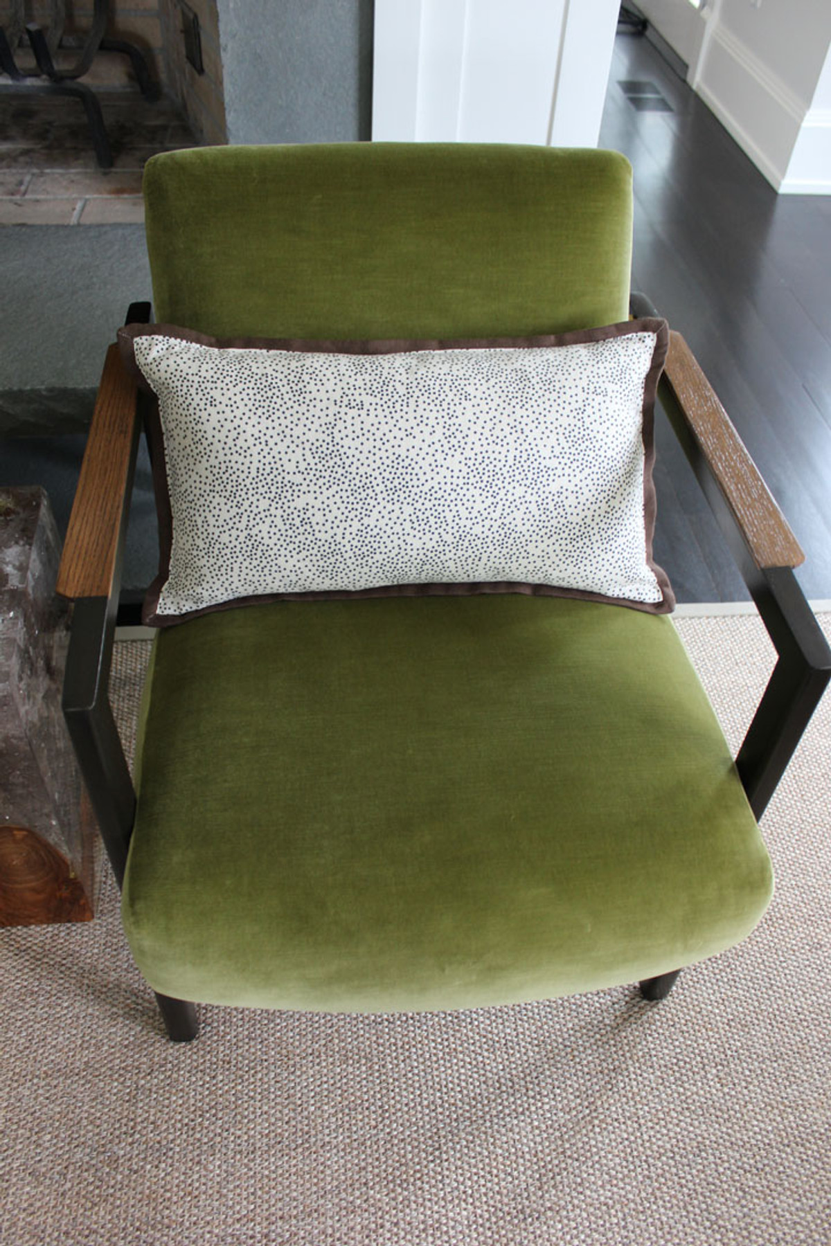 ... Chairs In Holly Hunt Vanity Fair In Fresh. Custom Pillows By Lynn Chalk  In Kelly ...