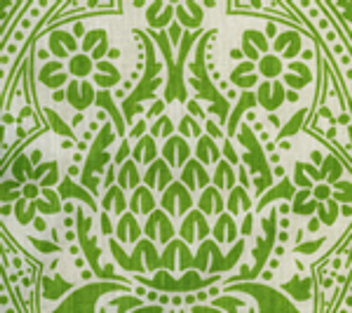 Quadrille Pina Jungle Green on Tint