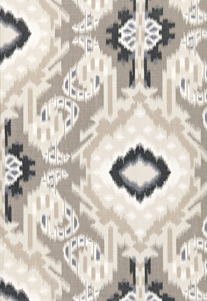 Schumacher Kiribati Ikat Print Linen 174981
