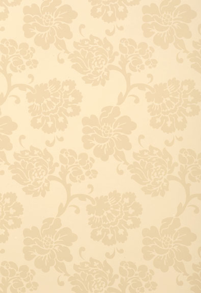 Schumacher Albero Floreale Bisque Wallpaper 5003623