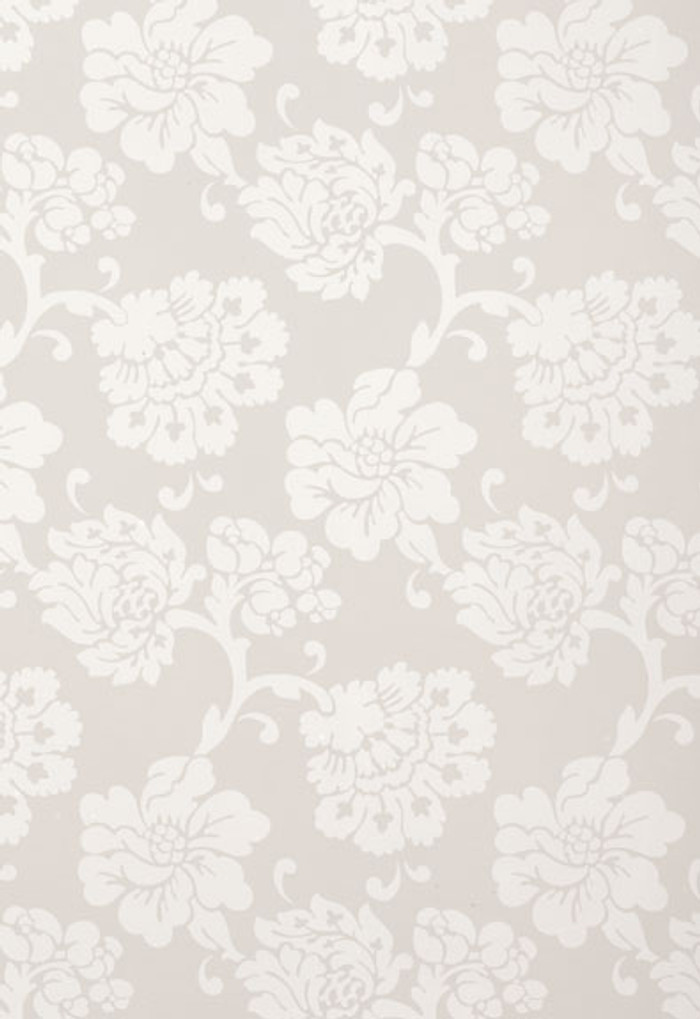 Schumacher Albero Floreale Grey Wallpaper 5003624