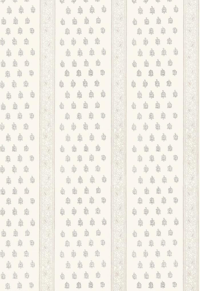 Schumacher Katsura Stripe Wallpaper Oyster  5005200
