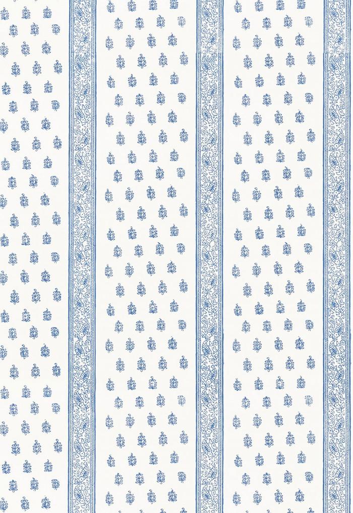 Schumacher Katsura Stripe Wallpaper Delft  5005201
