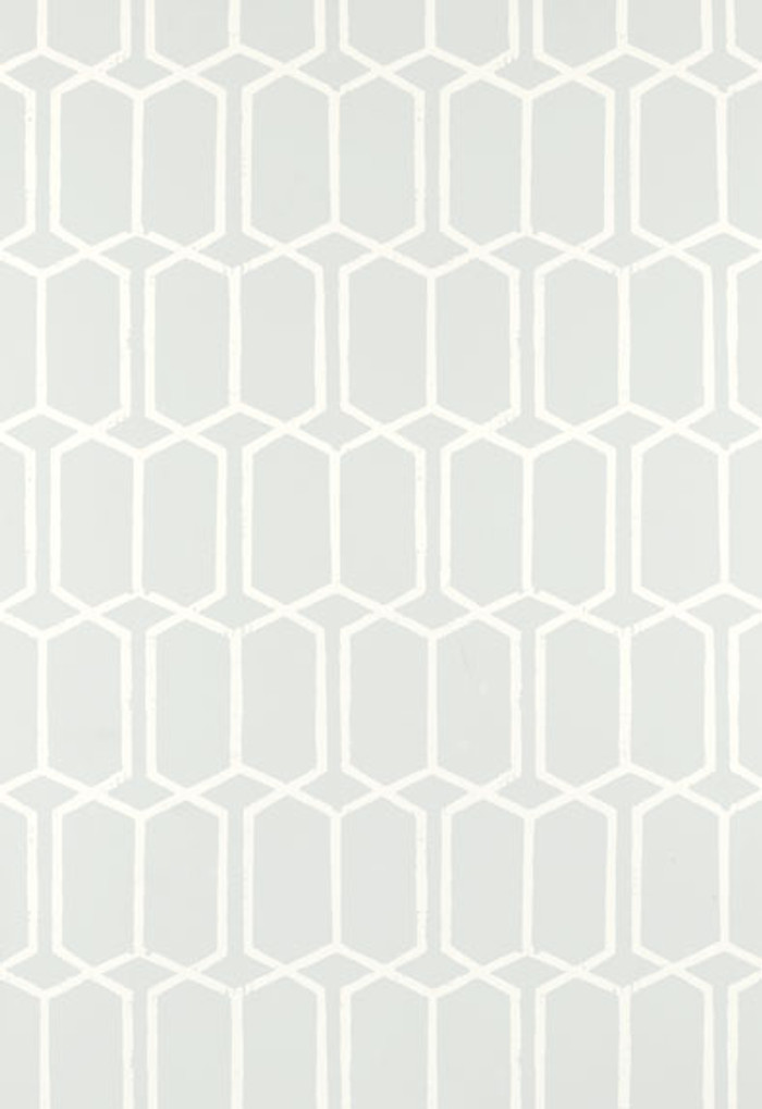 Schumacher Modern Trellis Wallpaper Cirrus 5003280 (Priced by the Single Roll. Sold by the Triple Roll.  Must Order in increments of 3 Rolls)