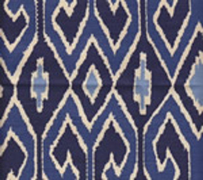 Quadrille Aquarius Navy Royal on Tint