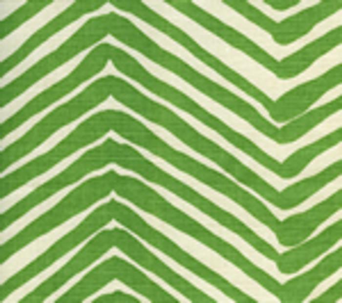 Quadrille Alan Campbell Zig Zag Leaf On Tint