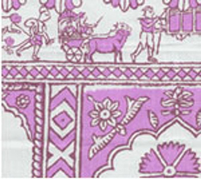 China Seas Sultan II in Lilac on White