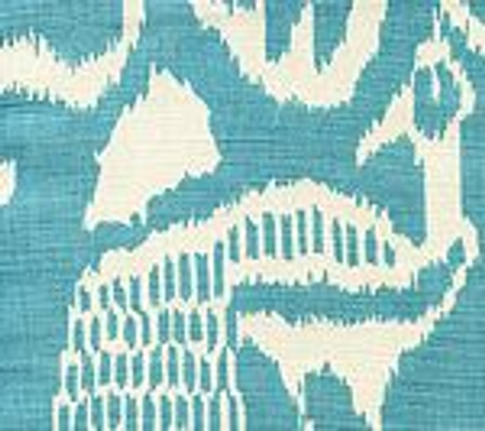 Quadrille China Seas Bali II Turquoise on Tint