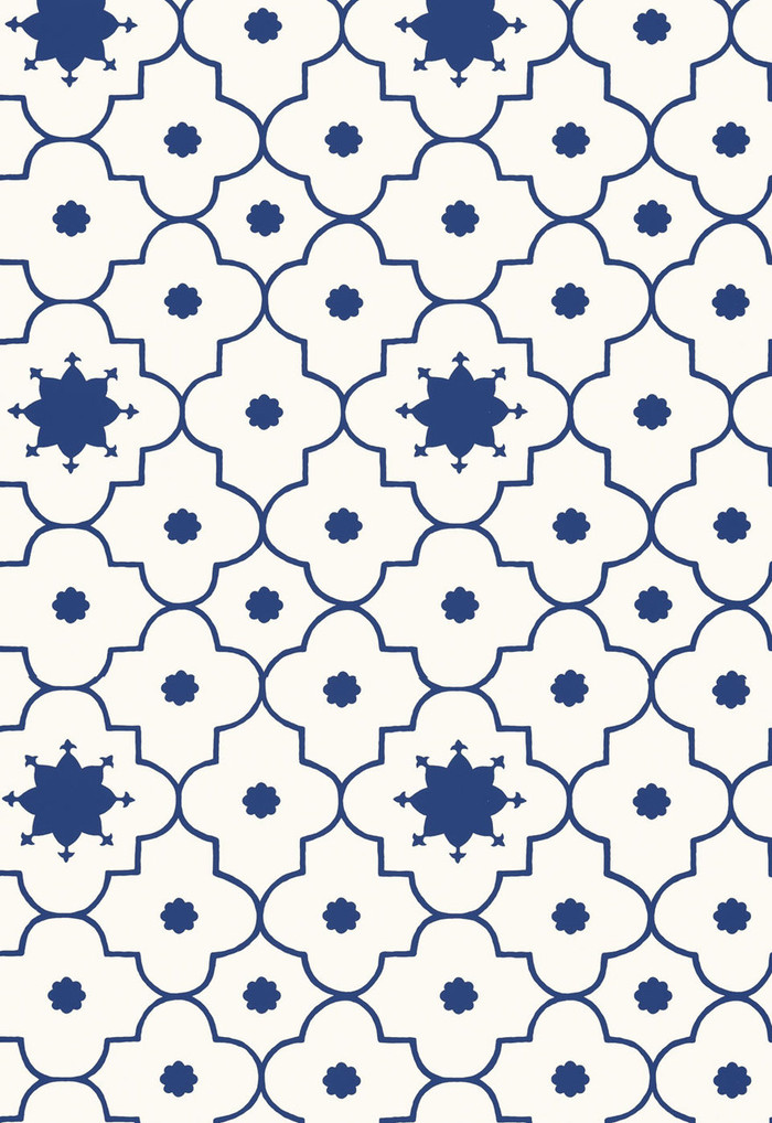 Taj Trellis in Jaipur Blue