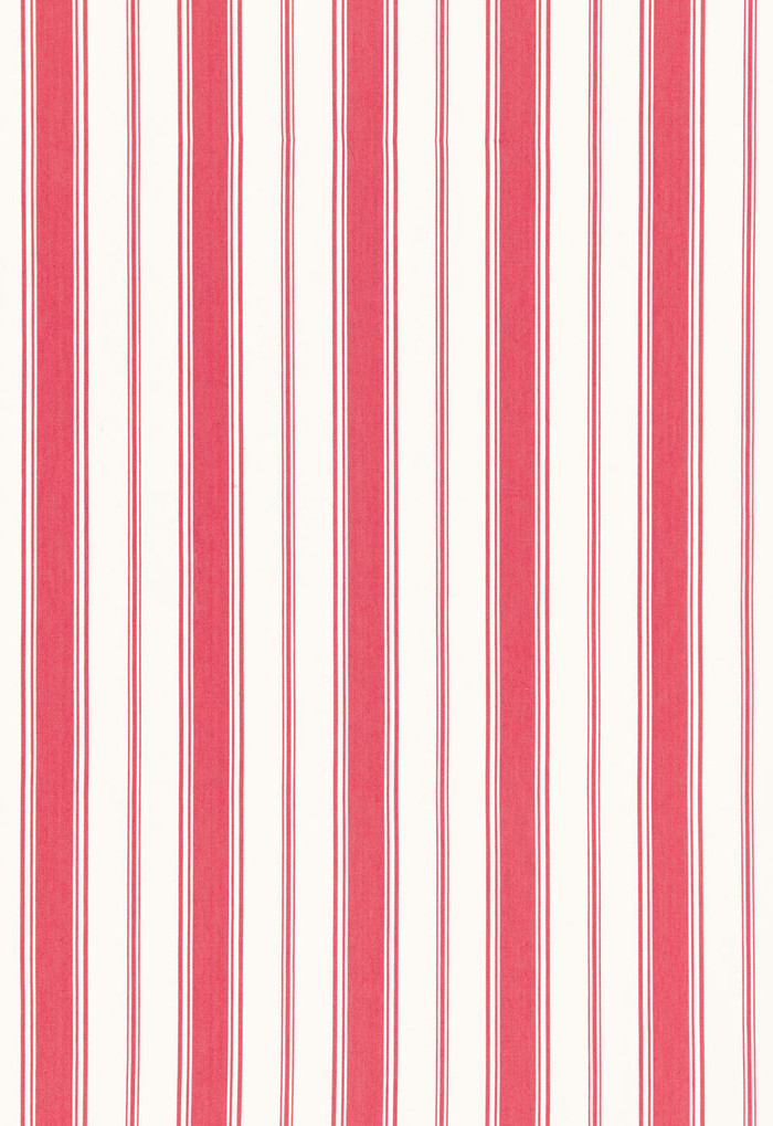 Alessandra Branca For Schumacher Branca Stripe Rouge 68311