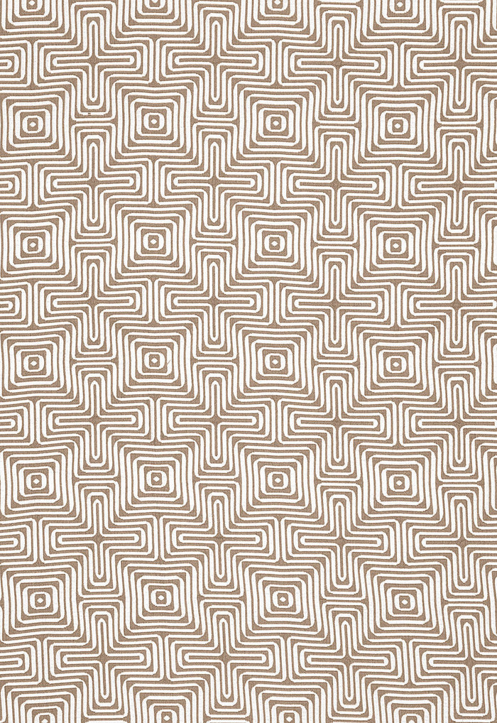 Trina Turk Amazing Maze Indoor/Outdoor in Sand for Schumacher 65323