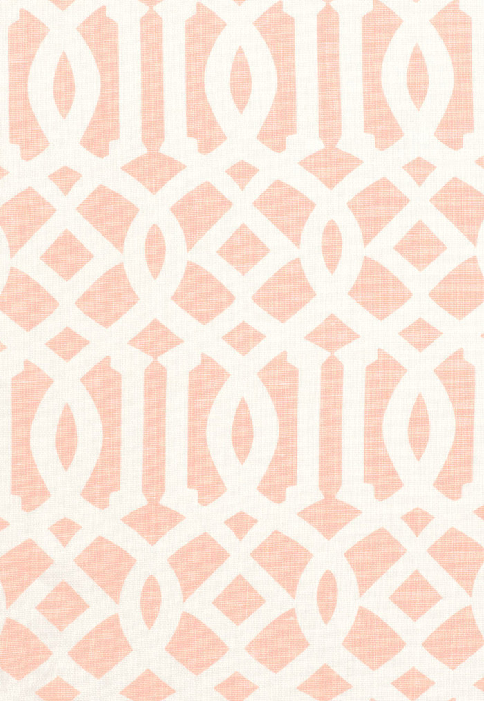 Schumacher Kelly Wearstler Imperial Trellis II Blush 174416