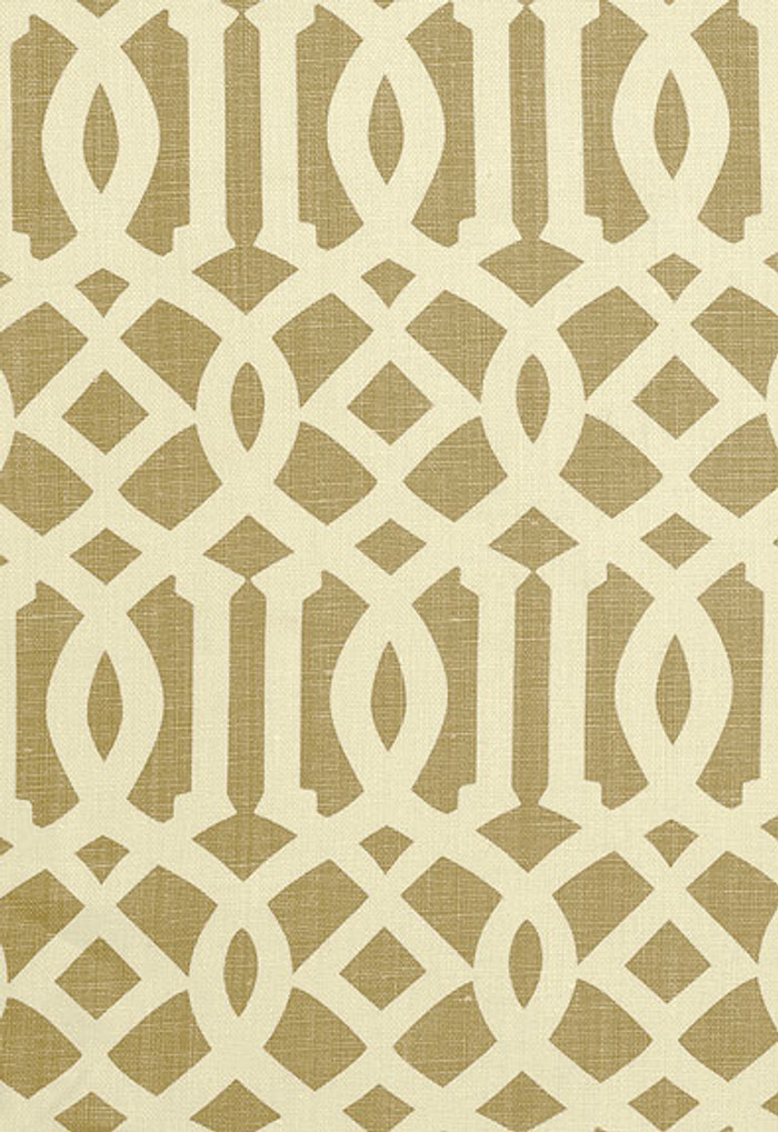 2643761 Schumacher Kelly Wearstler Fabric Imperial Trellis Natural
