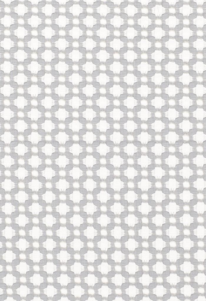 Schumacher Celerie Kemble Betwixt Zinc/Blanc 65684