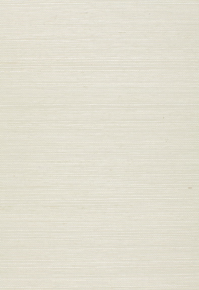Schumacher Onna Sisal Wallpaper Ivory 5002197