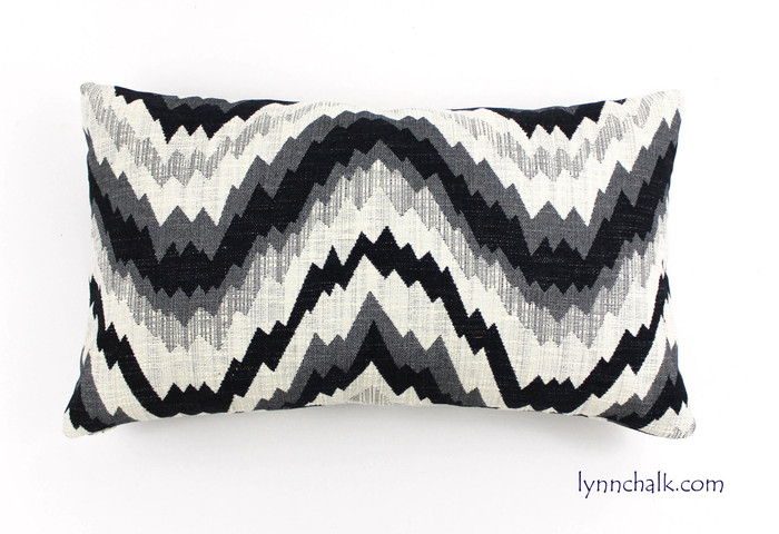 14 X 24 Pillow in Flair Noir