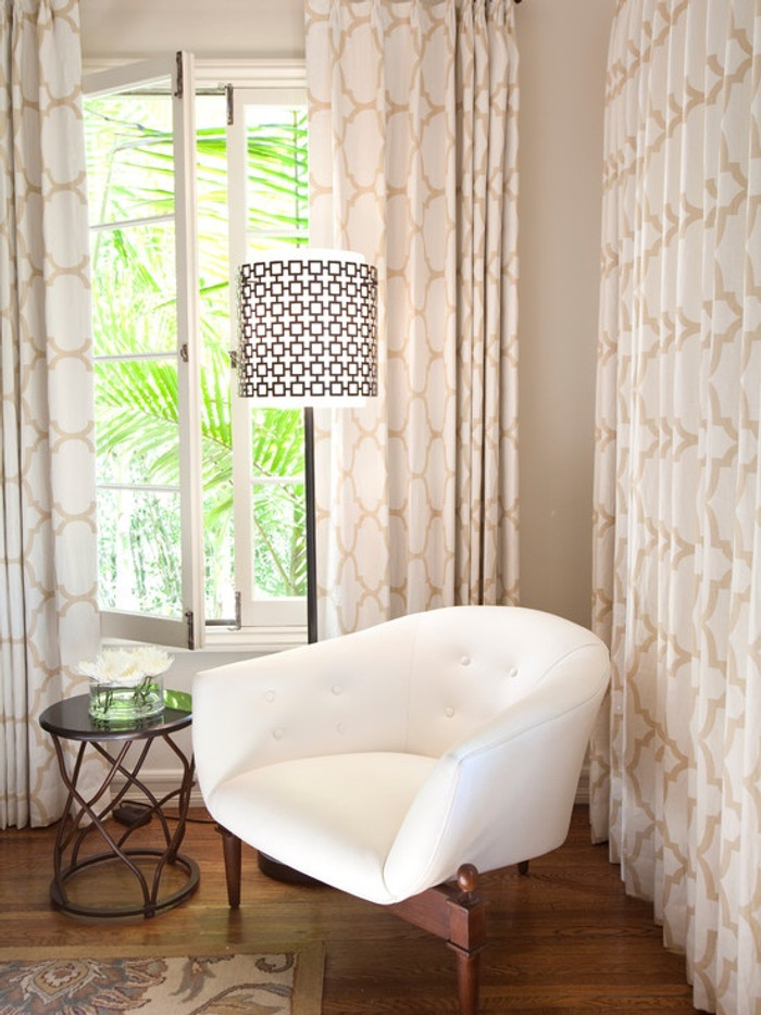 Windsor Smith Riad Living Room Drapes