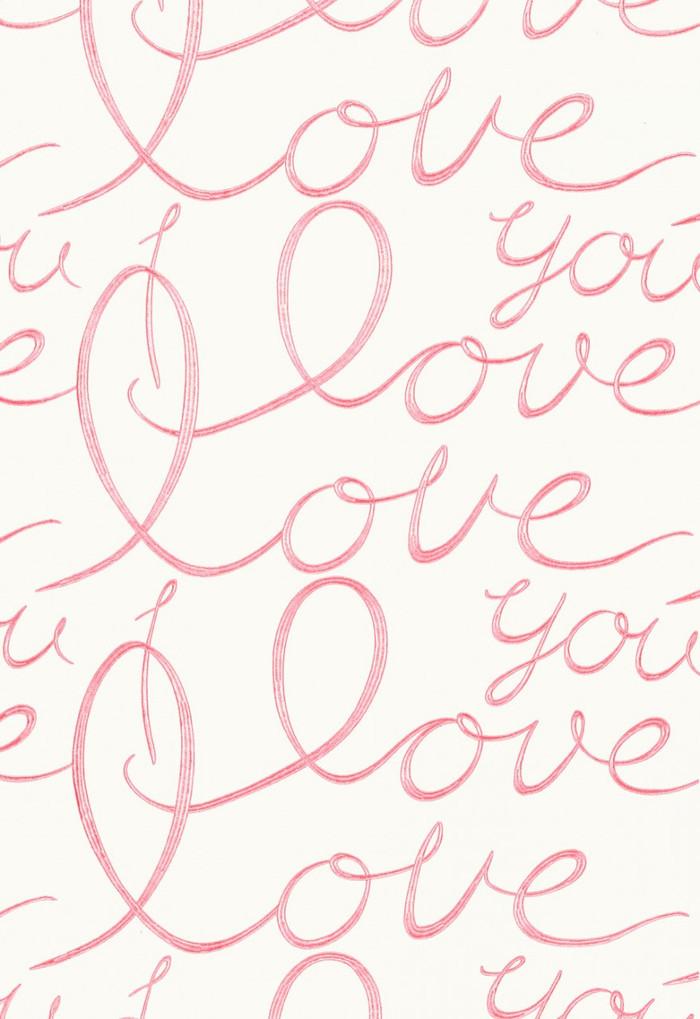 66202 Lulu DK Fabric Love Pink Lemonade