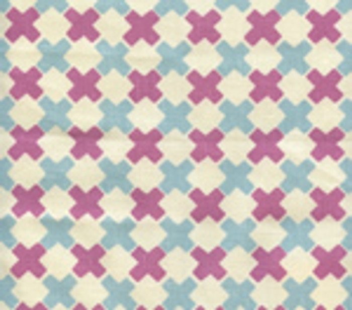 Double Cross Check New Blue with Lilac on Tint 4120-13