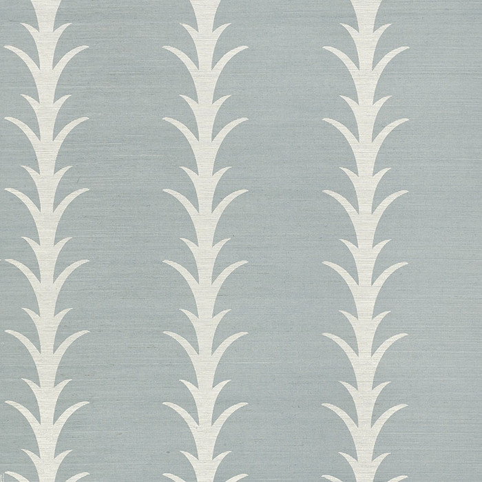 5006056 Acanthus Stripe Chambray