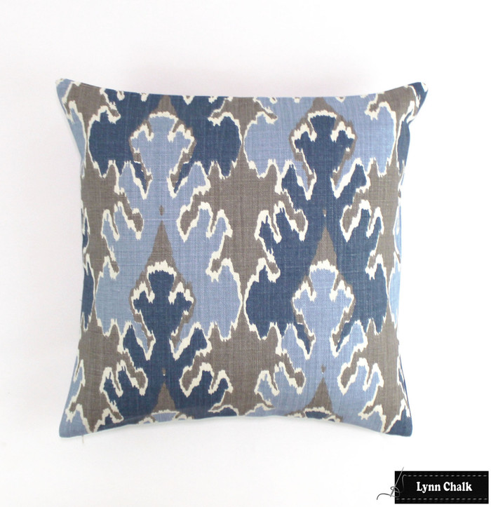 Kelly Wearstler Bengal Bazaar in Grey/Indigo