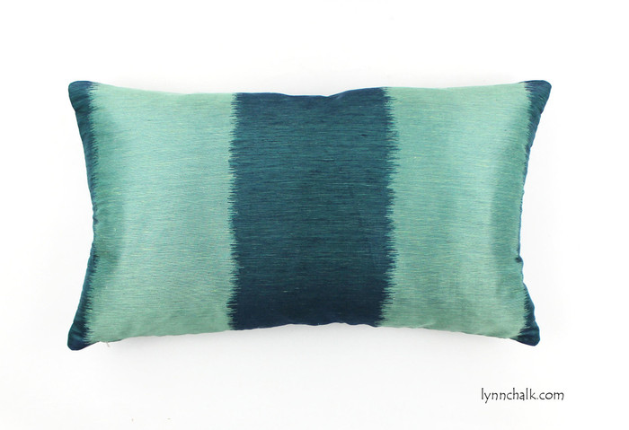 ON SALE Celerie Kemble Bagan in Peacock 12 X 24 Lumbar Pillow   -Only 1 Remaining at This Sale Price