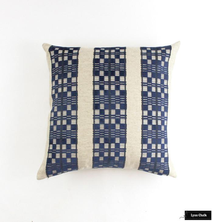 ON SALE Designers Guild William Yeoward Septima Velvet Knife Edge Pillows (22 X 22)