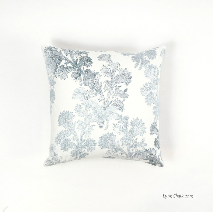 Pillows in Pushpa Aqua (18 X 18)