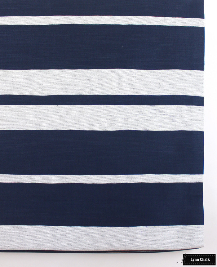 Roman Shade in Little Big Stripe in Blue Boy
