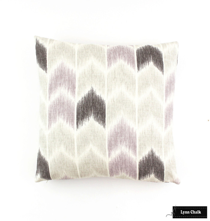 ON SALE Fabricut Nojo Pillows in Lavender (Both Sides 18 X 18) There is only 4 Pillows remaining at this Sale Price. Nojo Lavender has been discontinued.