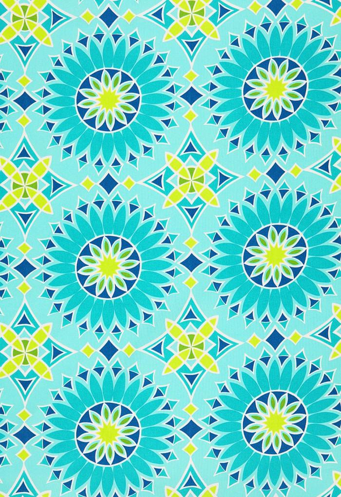 Trina Turk Soleil LA Print Aqua