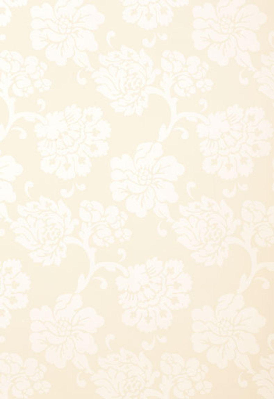Schumacher Wallcovering Albero Floreale in Ivory