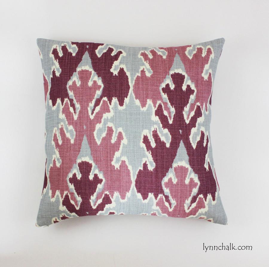 Pillow in Kelly Wearstler Bengal Bazaar Magenta
