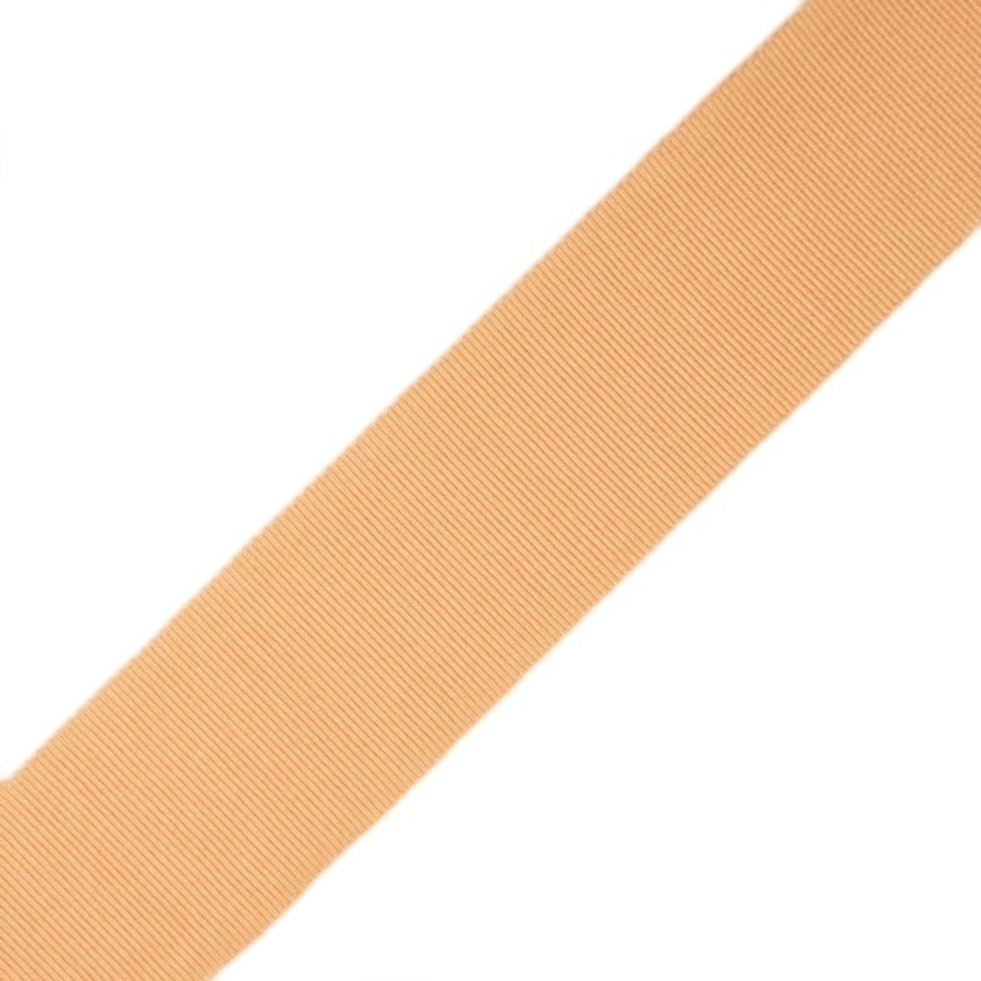 Samuel & Sons French Gosgrain Ribbon in Peach Cobbler 1.5 inch wide 977-44932 (76 colors available at $12 per yard)