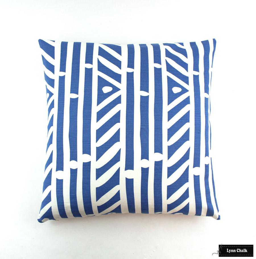 Quadrille Alan Campbell Candu Indoor/Outdoor Fabric Magenta
