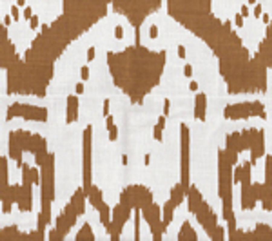 Quadrille Island Ikat Camel II
