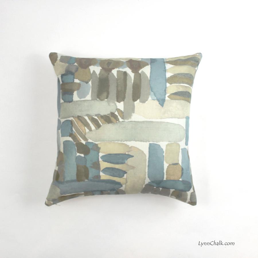 Pillows in Groundworks Moriyama Dusk (18 X 18)