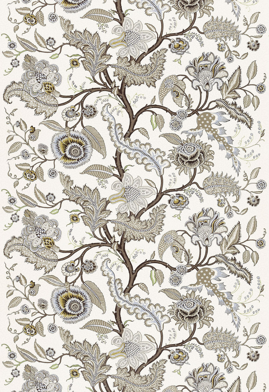 Martyn Lawrence Bullard Wallpaper Sinhala Sidewall in Stone