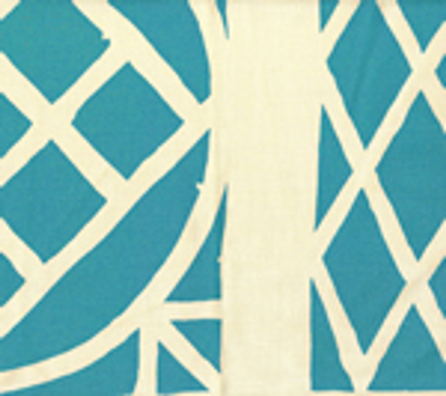Trellis Background Wallpaper Turquoise On Tint