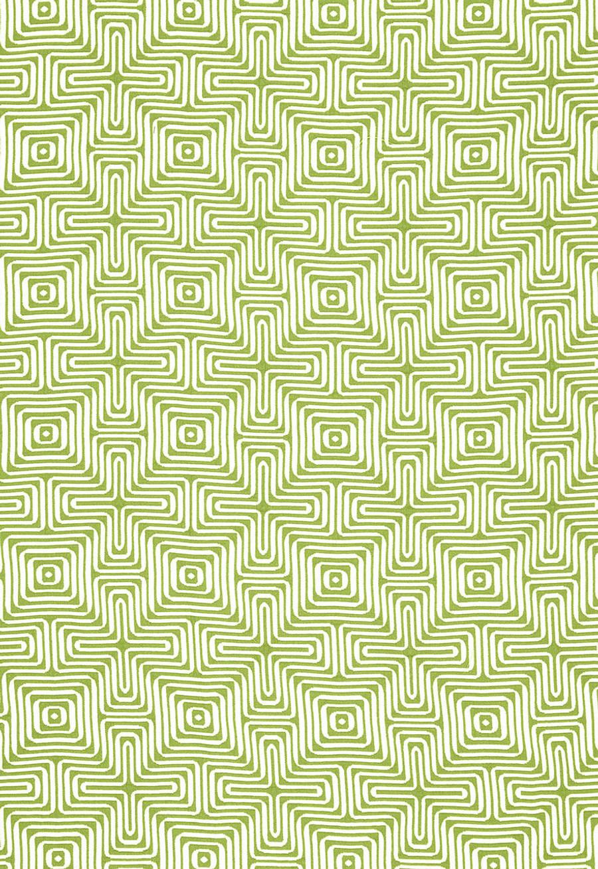 Trina Turk Amazing Maze Indoor/Outdoor in Palm for Schumacher 65321