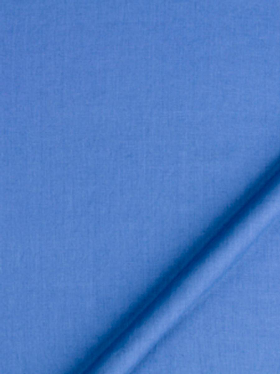 Milan Solid Linen Bluebell