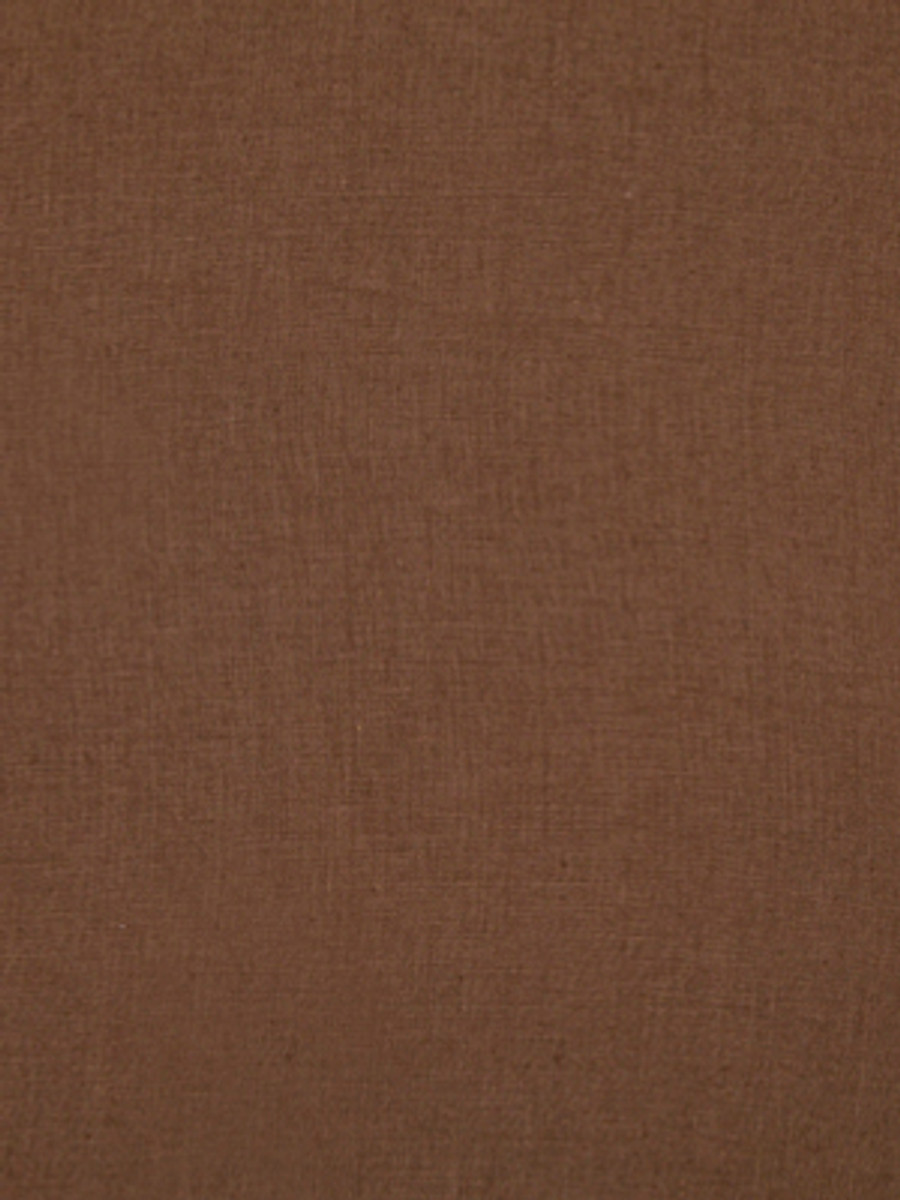 Milan Solid Linen Chocolate