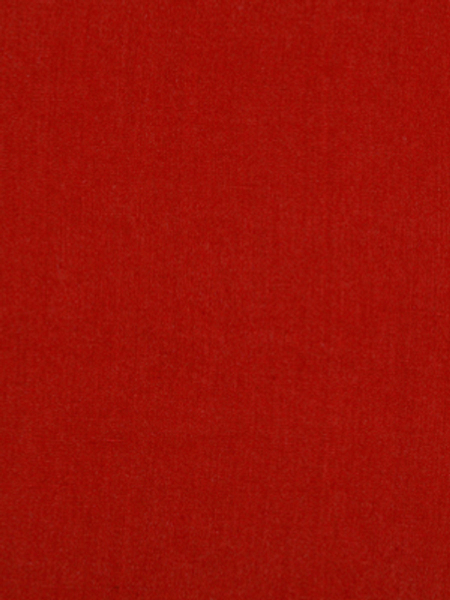 Milan Solid Linen Poppy