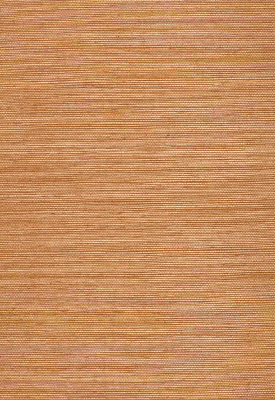Schumacher Onna Sisal Wallpaper Paprika 5002190