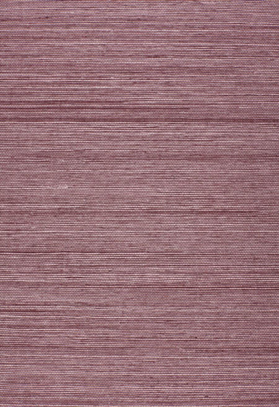 Schumacher Onna Sisal Wallpaper Purple 5002193