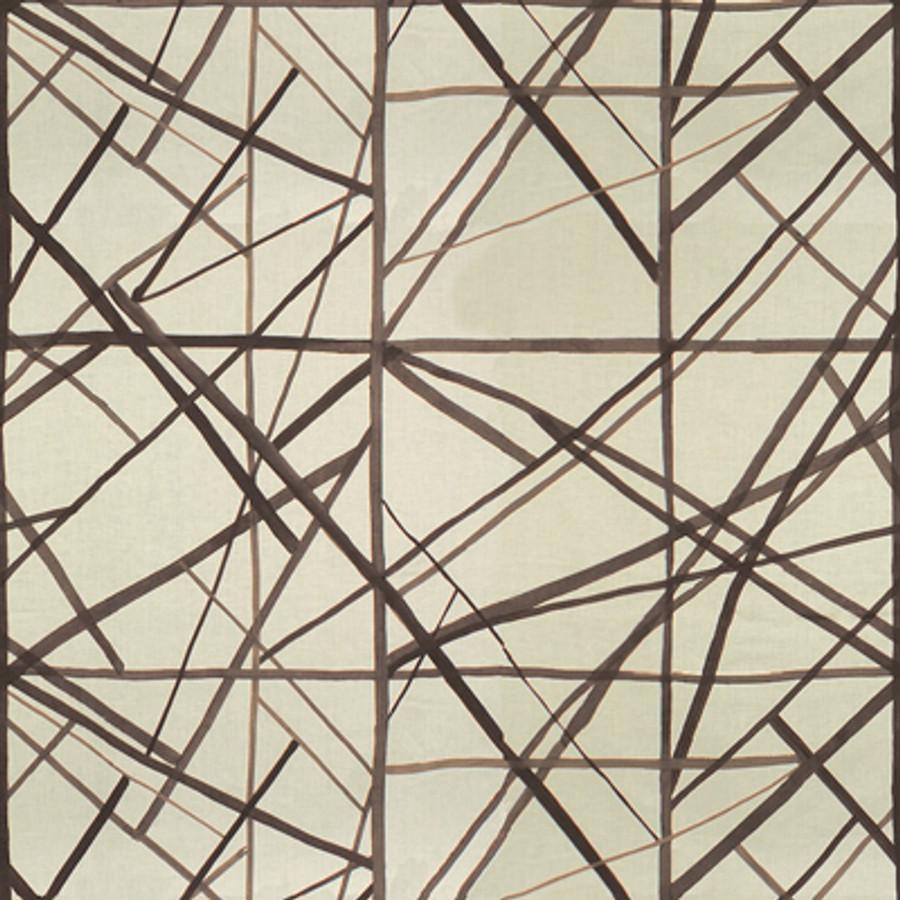 Kelly Wearstler Channels - Taupe/Ivory