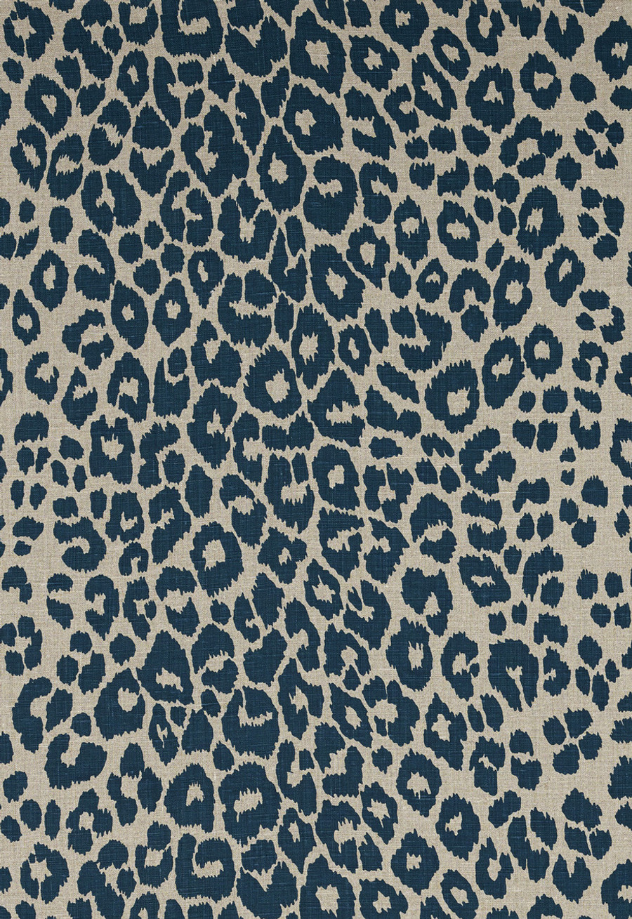 Schumacher Iconic Leopard Ink/Natural